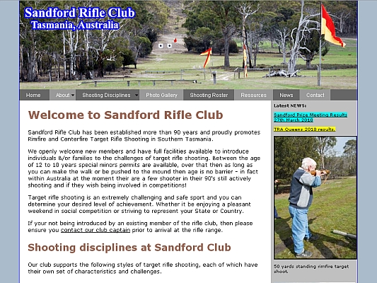 Sandford Rifle Club