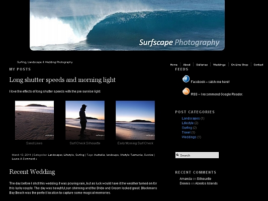 Surf Photography in Australia