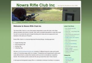 Nowra Rifle Club website design