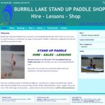 Hire SUP at Burrill Lake