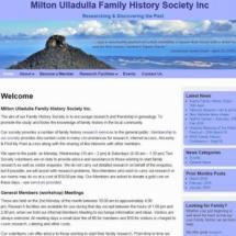 Milton Ulladulla Family History Society