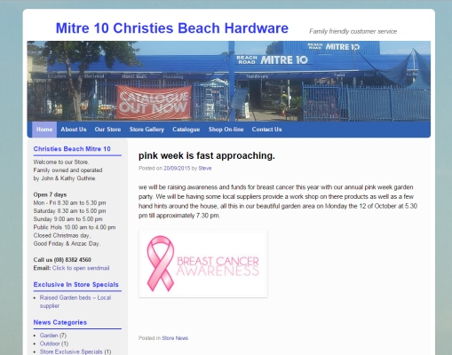 Christies Beach Mitre 10
