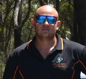 Corey owner of Killer Bug Pest Solutions