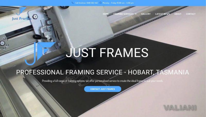 Just Frames Hobart