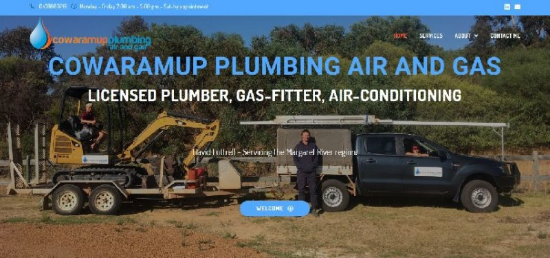 Cowaramup Plumbing Air and Gas