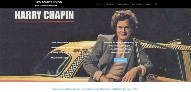 Harry Chapin Friends Stories & memories