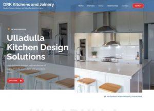 DRK Kitchens website design by Dennis Gullan